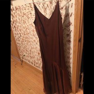 Burnt orange dress